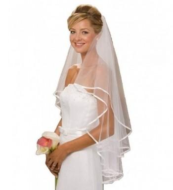 iLovewedding Women Bridal Two Layer Wedding