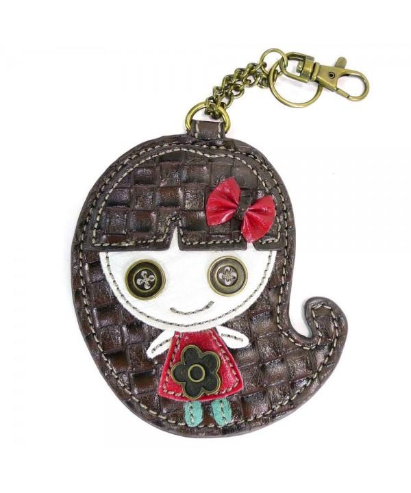 Chala Coin Purse Smiley Black