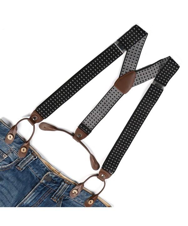 Enwis Suspenders Braces Polyester Elastic
