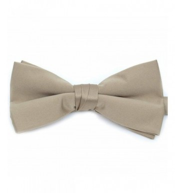 Solid Color Banded Pieces Taupe 3