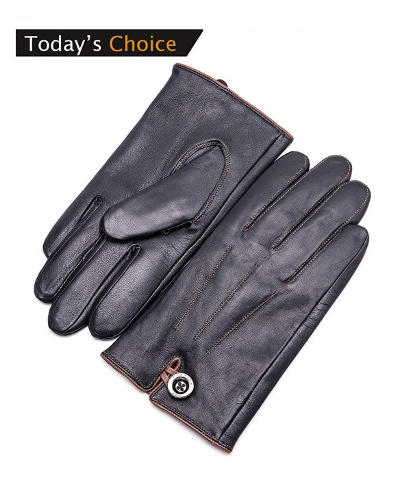 YISEVEN Genuine Leather Winter Touchscreen
