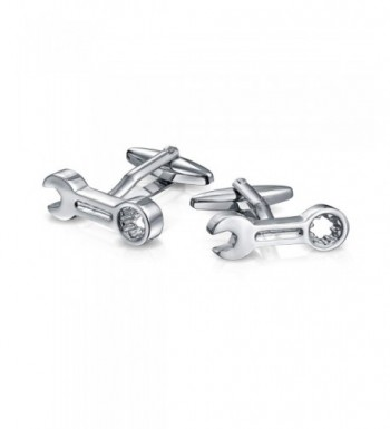 Bling Jewelry Stainless Combination Cufflinks