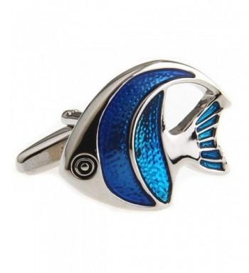 MRCUFF Angelfish Cufflinks Presentation Polishing
