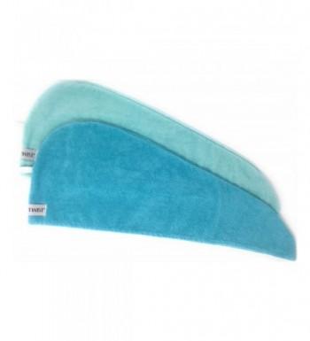 Turbie Twist Microfiber Towel Light