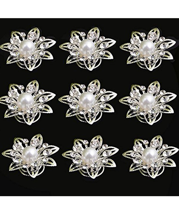 Yantu Crystal Flower Spirals Accessories