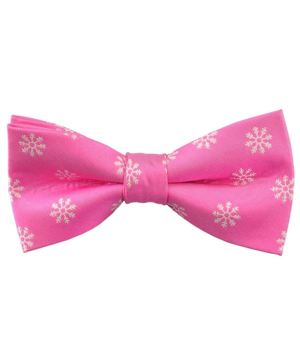 Christmas Special PenSee Christmas Ties Various snowflakes pink