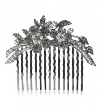 ACCESSORIESFOREVER Wedding Jewelry Crystal Rhinestone
