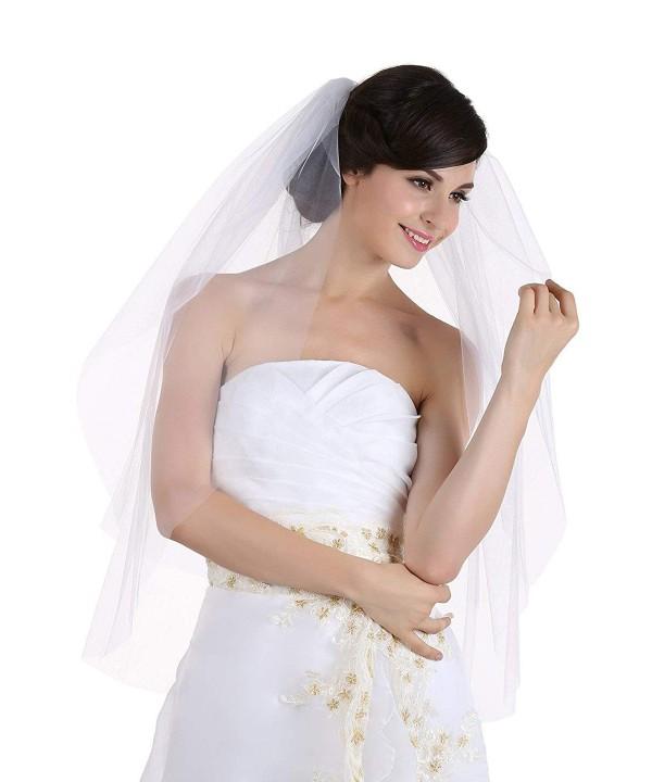 Tier Edge Bridal Wedding Veil