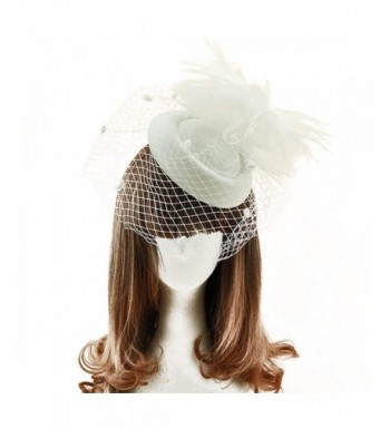 Fascinators Elegant Feathers Flower Headband