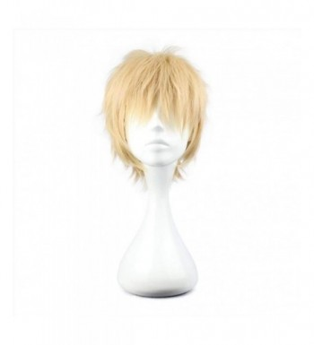 COSPLAZA Cosplay Short Blonde Synthetic