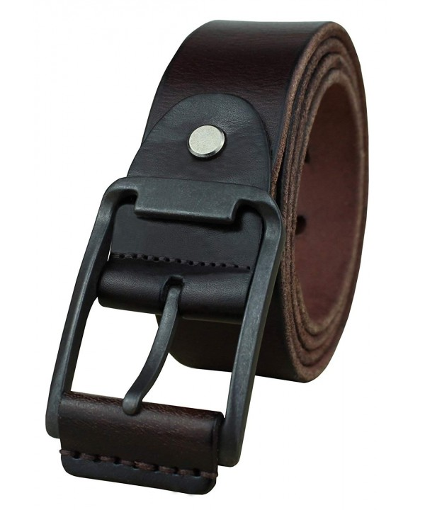 Heepliday Mens Soft Casual Jean Genuine Leather Belt