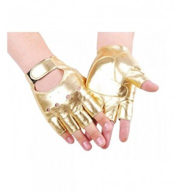 Modishou Fingerless Hollow Mittens Gloves