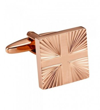 Urban Jewelry Stainless Cufflinks Abstract