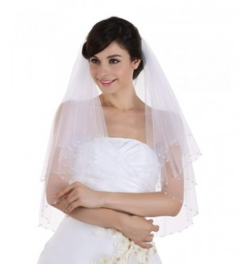 Crystal Pearl Beaded Bridal Wedding