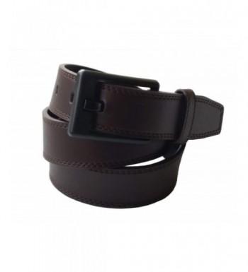 Ferrer Mens Leather Metal Free Belt