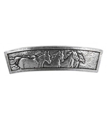 Horses Hair Clip Crafted Barrette