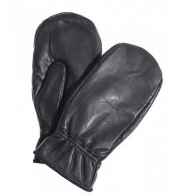 Pratt Hart Leather Mittens Hi Loft