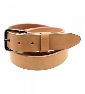 Made Natural Harness Leather Burnished