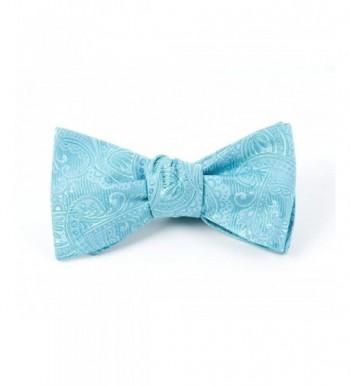 Twill Paisley 100 Woven Self Tie