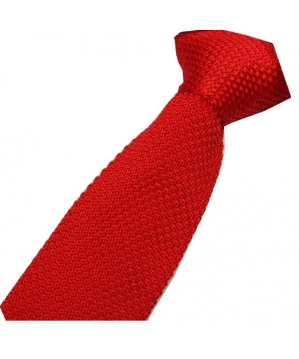 D berite Fashion Knitted Necktie Narrow
