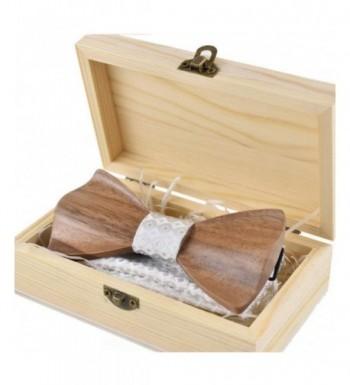 LUHEN Wooden Handmade Bowtie Medium