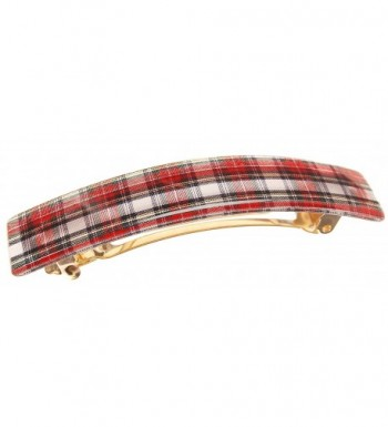 France Luxe Classic Rectangle Barrette