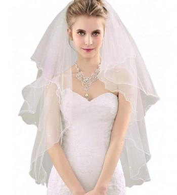 GRACIN Womens Pearls Fingertip Wedding