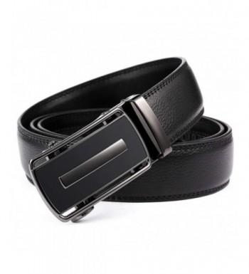 Ratchet Genuine Leather Adjustable Automatic