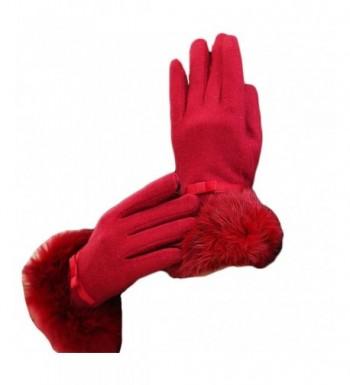 MineSign Womens Winter Gloves Cashmere